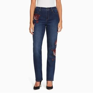 NWT Gloria Vanderbilt Midrise Amanda Craft Jeans
